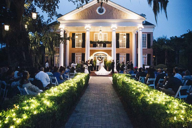 glamorous wedding venue