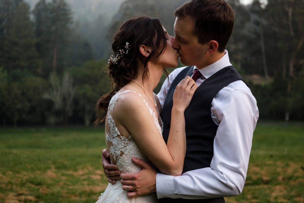 California redwoods wedding