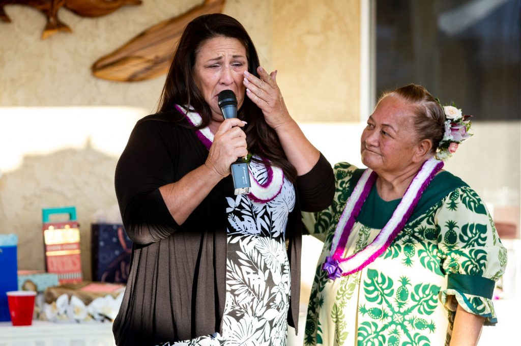 mother of bride speech at hawaiian wedding