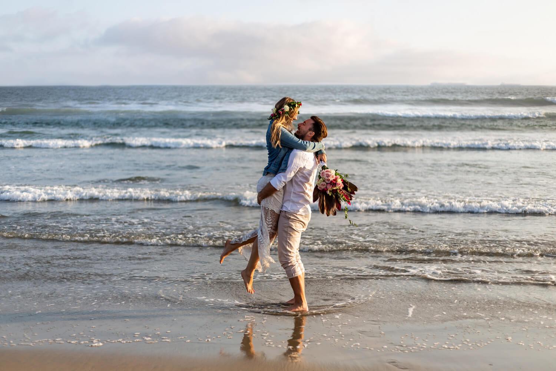 southern california beach wedding