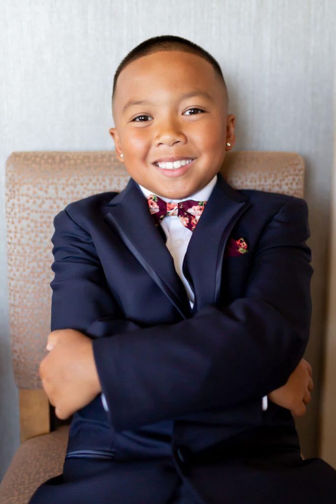 young groomsman