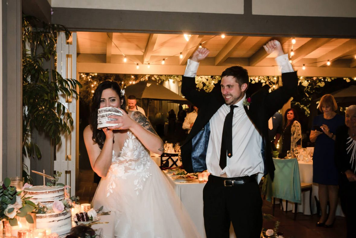 Sherman Library and Gardens Wedding