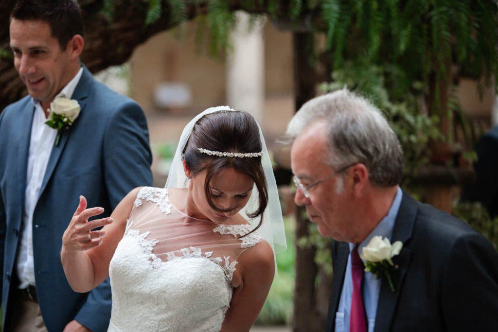 st francis cloister sorrento wedding