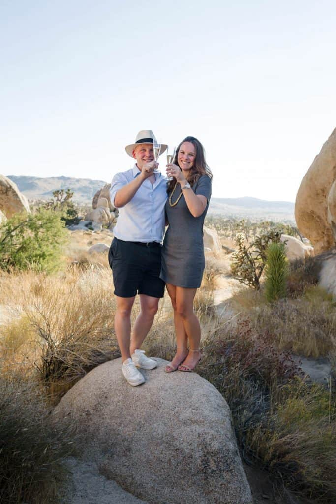 joshua tree wedding family formals