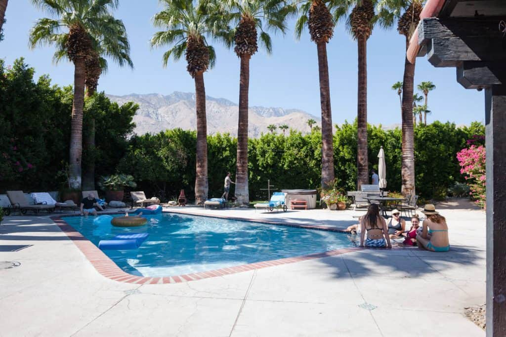 palm springs swimming pool