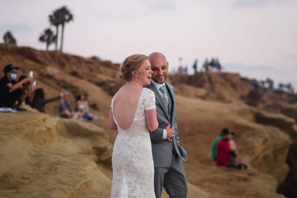 sunset cliffs elopement