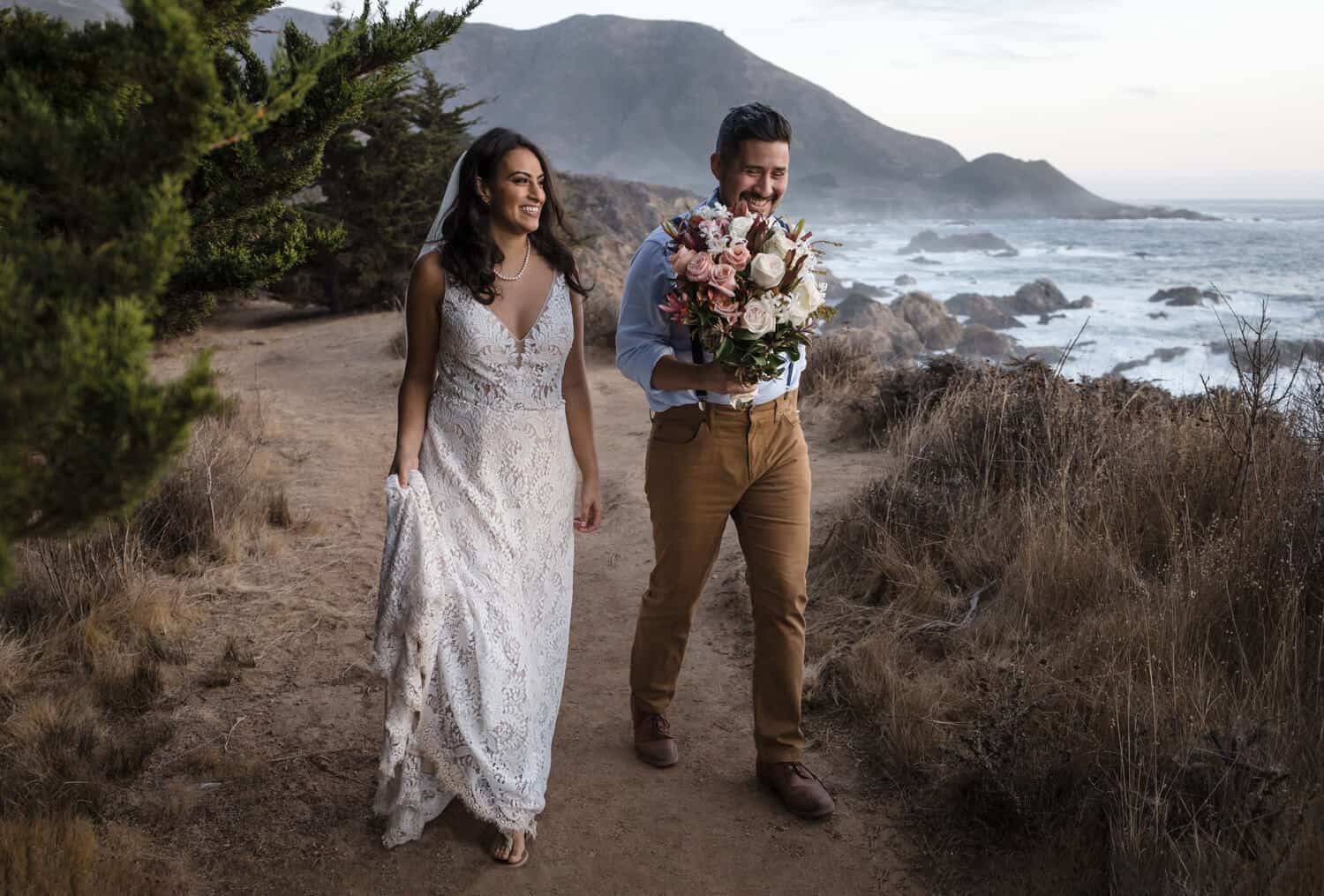 elopement photographer big sur