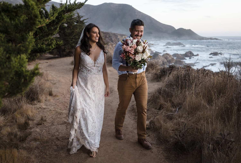 elopement photographer big sur