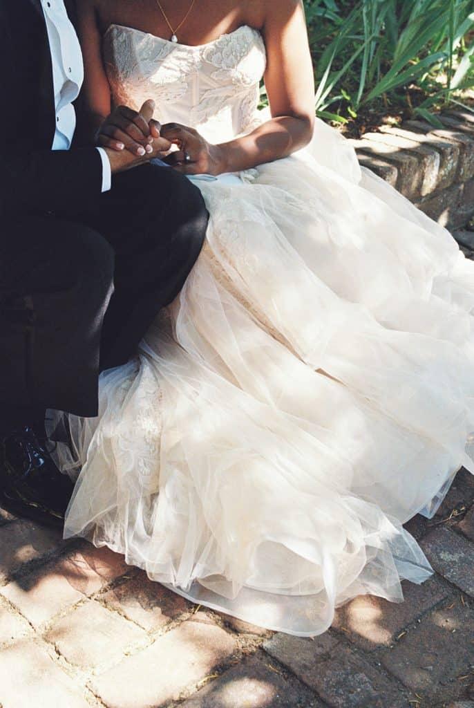 film wedding photo