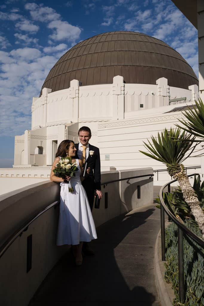 griffith observatory wedding